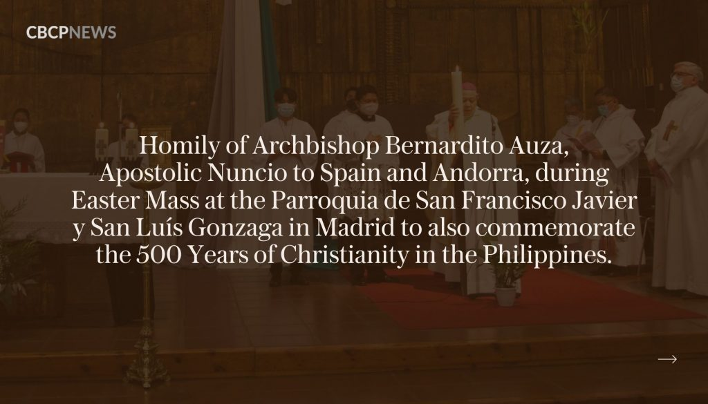 Fifth centenary of evangelization